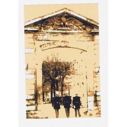Décor : Porte de l'ancienne école de Saint-Cyr - Yvelines