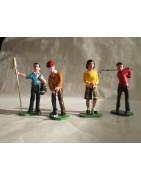 Golf - Figurines en plomb