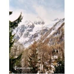 Décor : montagne en hiver