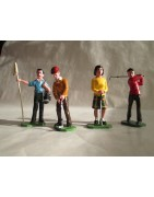 Golf - Figurines en plomb
